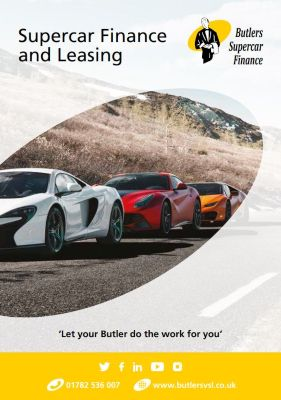 supercar brochure